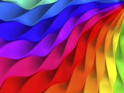 Colorful twisted stripe background
