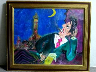 息子の油絵1