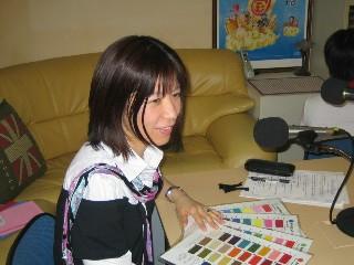 FMラジオ収録風景2