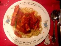 かにスパゲッティ